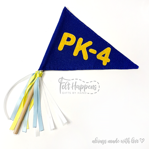 Pennant Flag with Handle