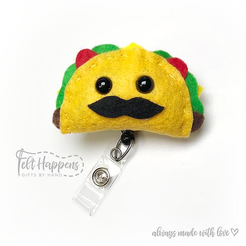 Taco Badge Holder
