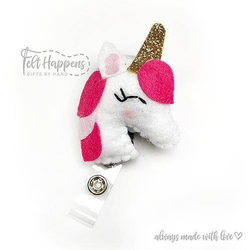 Unicorn Badge Holder
