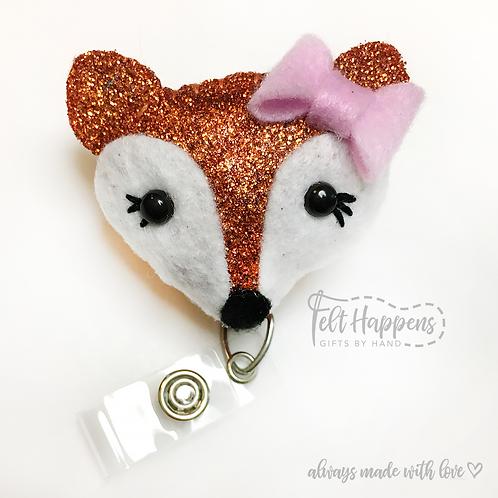 Fox Badge Holder