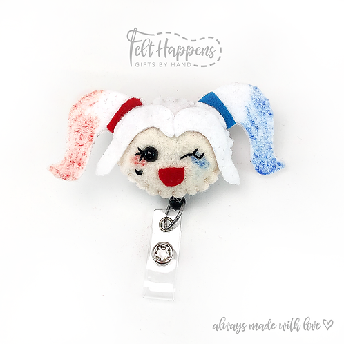 Harley Quinn Badge Holder