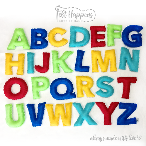 Solid Colors Alphabet