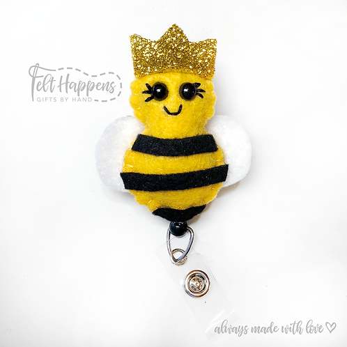 Bumble Bee Badge Holder