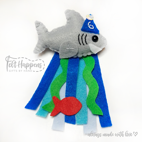 Shark Party Pin