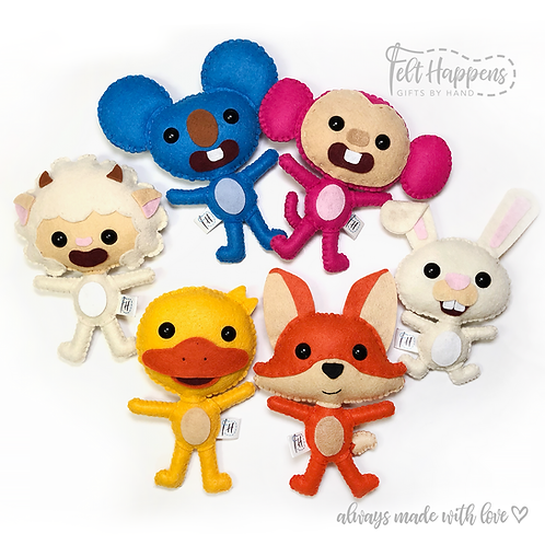 Qkids Characters