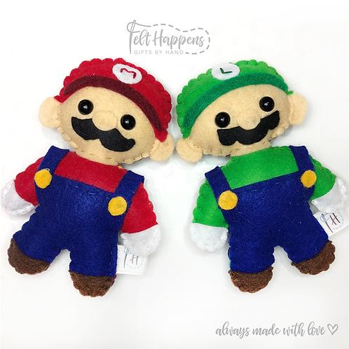 Mario & Luigi Stubbies