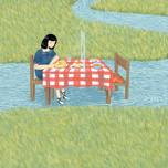 Isolated dinner
