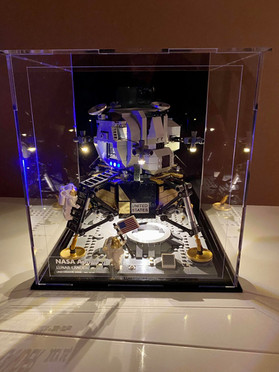 Vitrine d'exposition BriquesaBoX LEGO Apollo 11