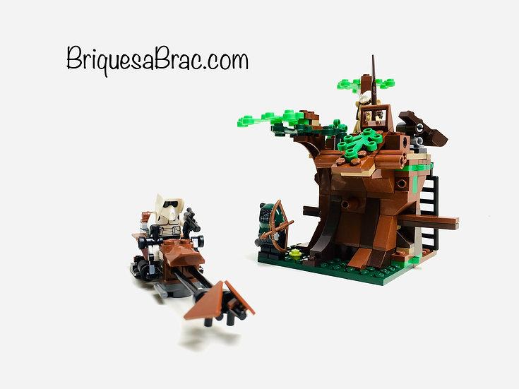 LEGO ® STAR WARS 7956 L'attaque des Ewoks
