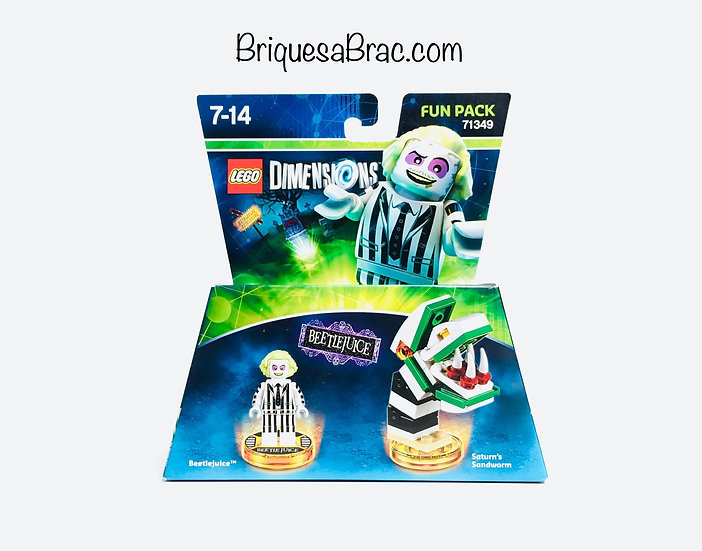 LEGO ® DIMENSIONS 71349 Beetlejuice and Saturn's Sandworm