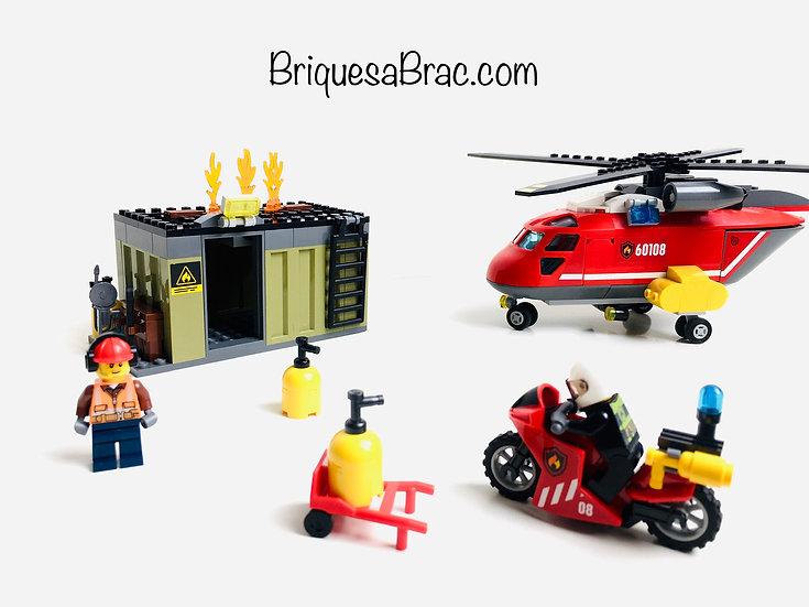 LEGO ® CITY 60108 L'unité de secours des pompiers