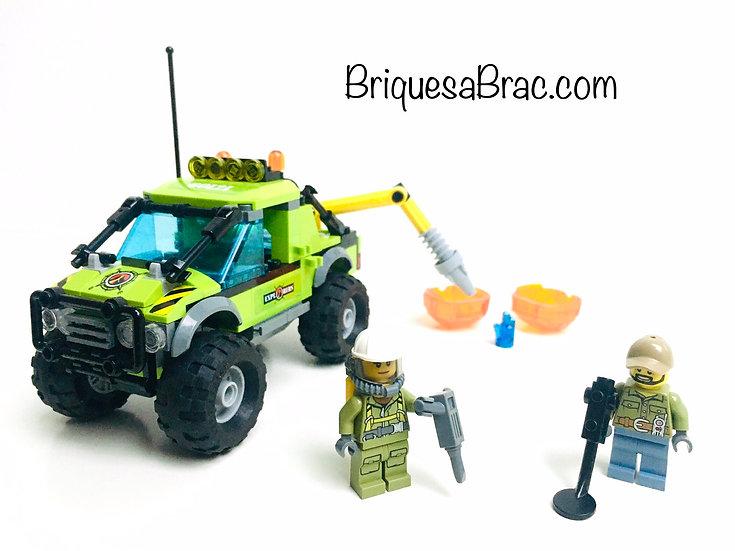 LEGO ® CITY 60121 Le Camion d'exploration Volcanique (Occasion)