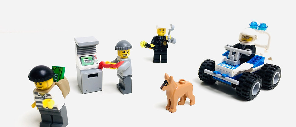 LEGO ® CITY 7279 Le Braquage du distributeur de billets de banque