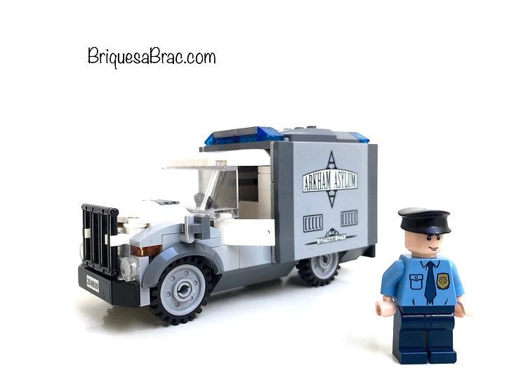 LEGO ® Batman 10937 Arkham Asylum Le Camion et chauffeur uniquement (Occasion)