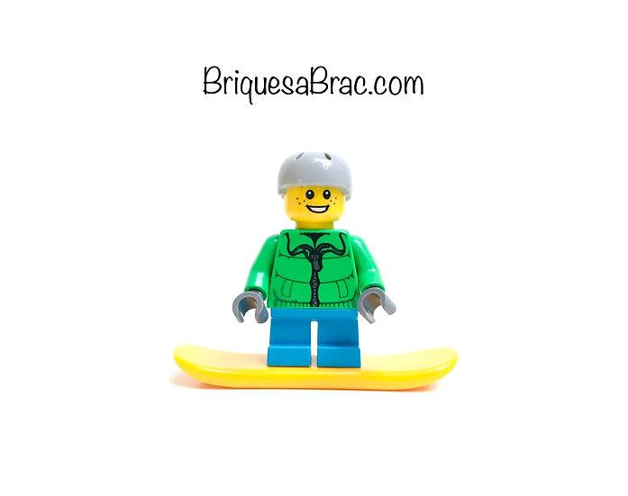 LEGO ® MINIFIGS 60155-3 Snowboarder Calendrier de l'Avent 2017