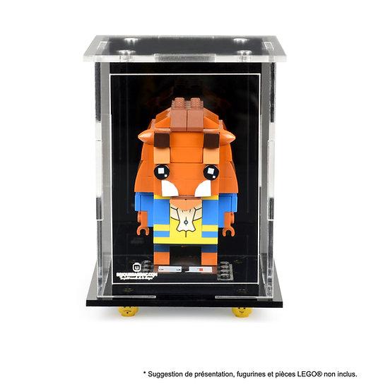Vitrine BriquesaBoX pour 1 figurine (LEGO® Brickheadz non inclus)