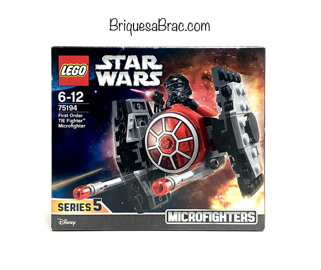 LEGO ® STAR WARS™ 75194 First Order TIE Fighter Microfighter (Neuf)