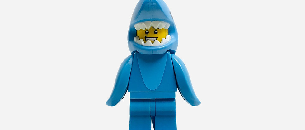 LEGO ® MINIFIGURES SERIE 15 Shark suit guy (col240)