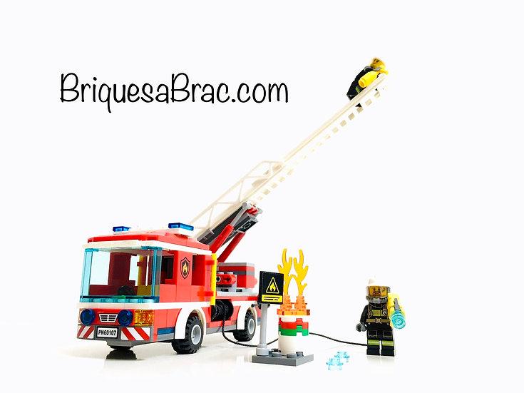 LEGO ® CITY 60107 Le Camion de pompier et sa grande échelle