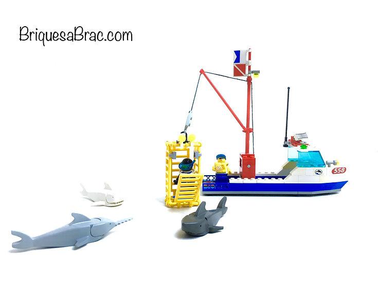 LEGO ® CITY 6558 Shark Cage Cove