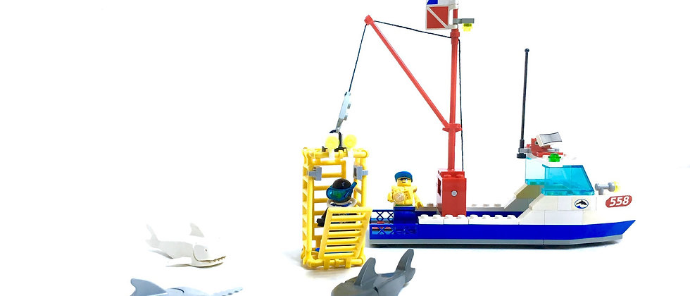 LEGO ® CITY 6558 Shark Cage Cove