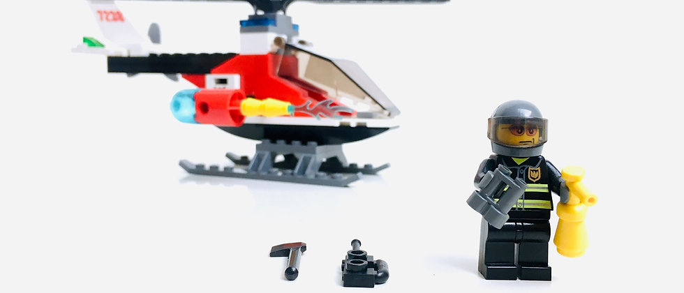 LEGO® CITY 7238 Fire Helicopter