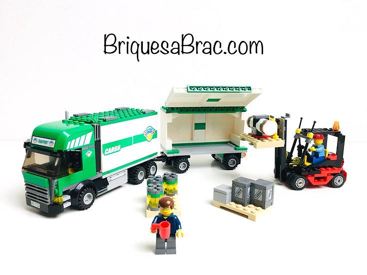 LEGO ® CITY 7733 Le Camion et son chariot élévateur