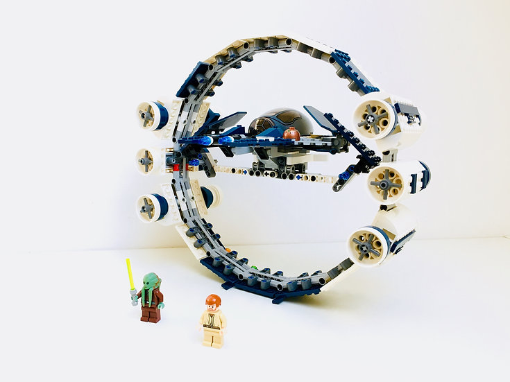LEGO@ 7661  Jedi Starfighter with Hyperdrive Booster Ring