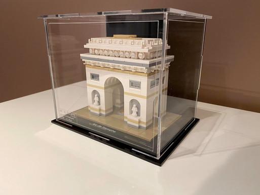 Vitrine BriquesaBoX Arc de Triomphe
