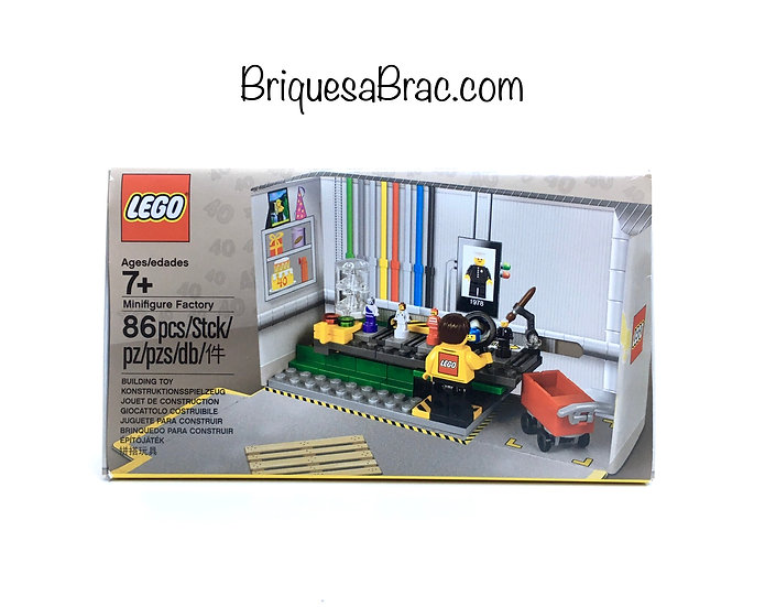 LEGO ® EXCLUSIVE BRAND STORE 5005358 Minifigure Factory (Neuf)