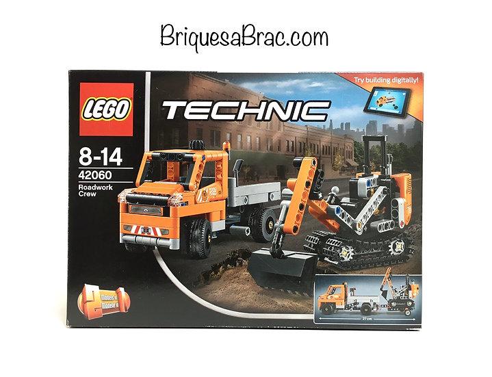 LEGO ® TECHNIC 42060 L'équipe de réparation routière 40th anniversaire (Neuf)