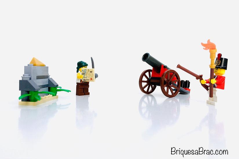 LEGO ® PIRATES 6239 Canon Battle