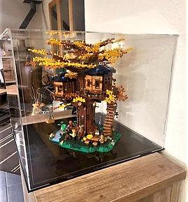 Vitrine Plexiglas BriquesaBoX LEGO IDEAS 21318 La Cabane dans l'arbre
