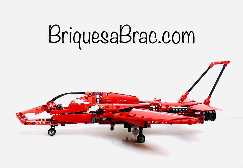 LEGO ® TECHNIC 9394 L'Avion supersonique (Occasion)