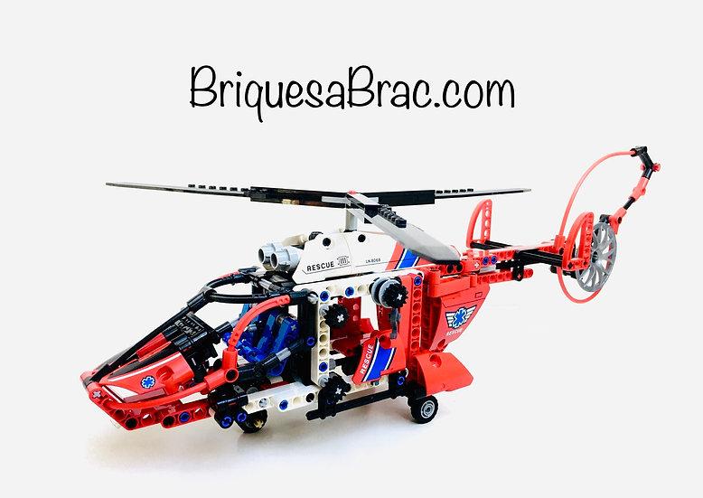 LEGO ® TECHNIC 8068 Hélicoptère de secours