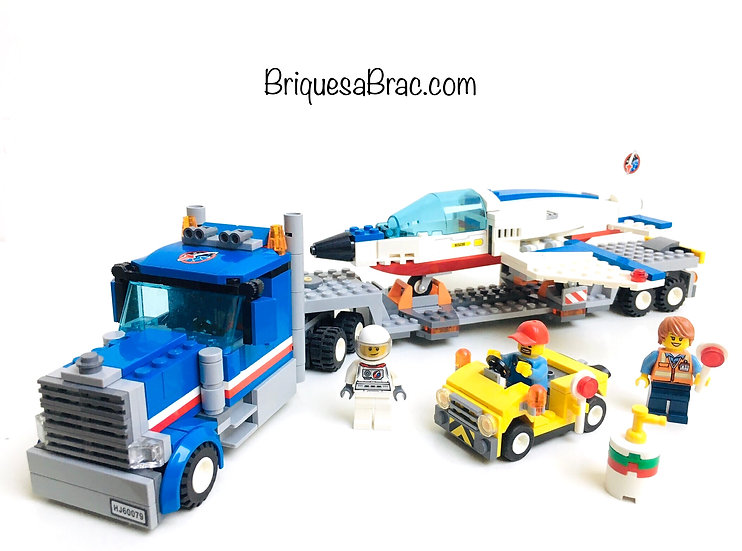 LEGO ® CITY 60079 Le Camion Transporteur d'avion d'entraînement (Occasion)