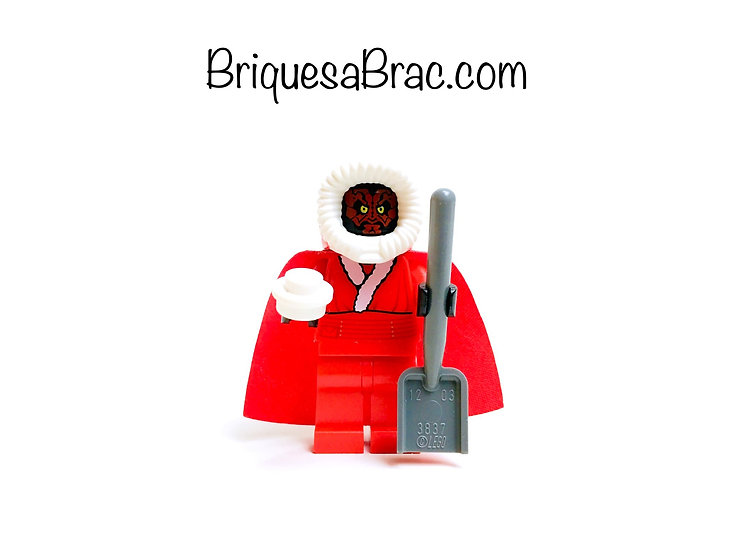 LEGO ® MINIFIGS SW0423 Santa Darth Maul + Accessoires