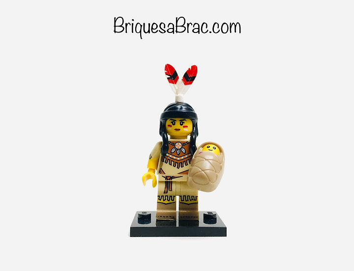 LEGO ® MINIFIGURES SERIE 15 Tribal Woman (col15-5)