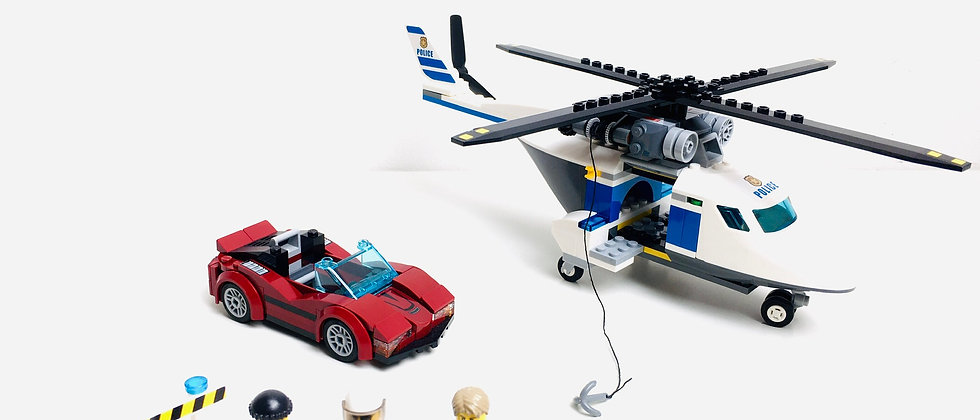 LEGO ® CITY 60138 High Speed Chase (2 véhicules sur 3)
