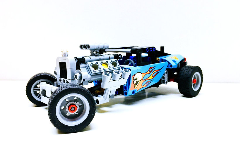 LEGO ® TECHNIC 42022 Hot-Rod (Occasion)