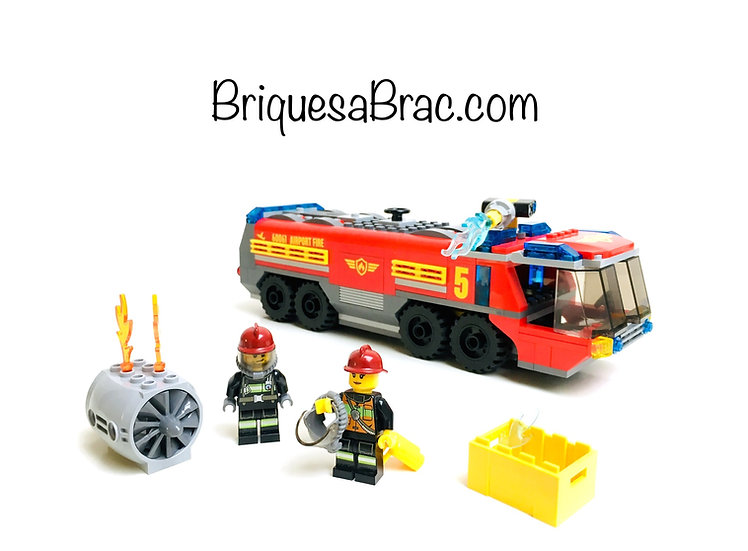 LEGO ® CITY 60061 Airport Fire truck (Occasion)