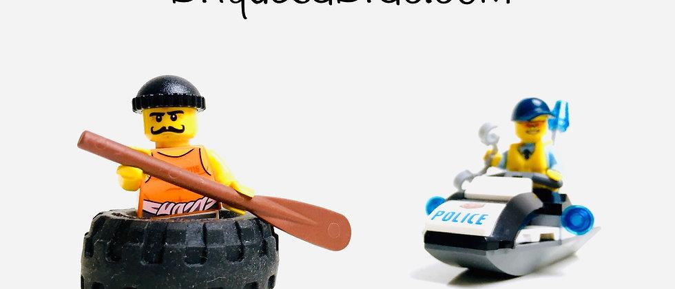 LEGO ® CITY 60126 Tire Escape
