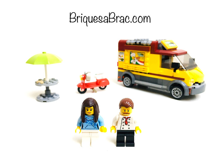 LEGO ® CITY 60150 Le Camion Pizza (Occasion)