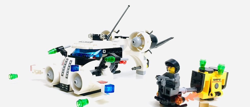LEGO ® SPACE POLICE lll 5971 Gold Heist