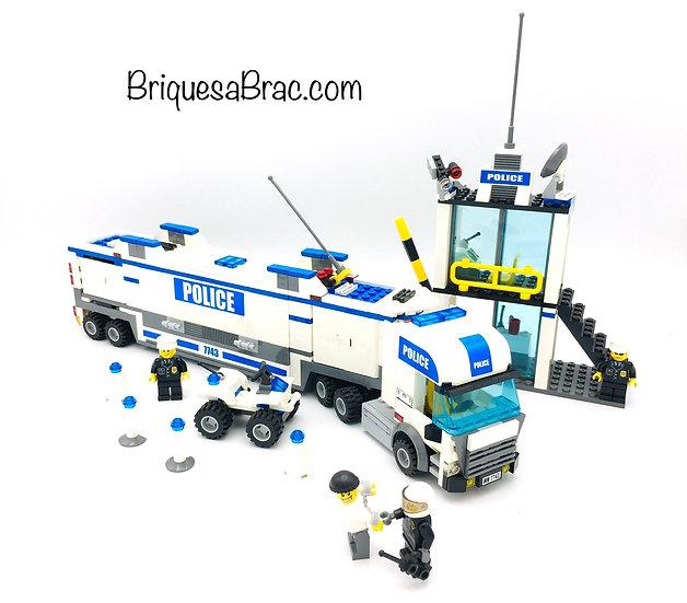 LEGO ® CITY 7743 Le Centre de Commande de la Police