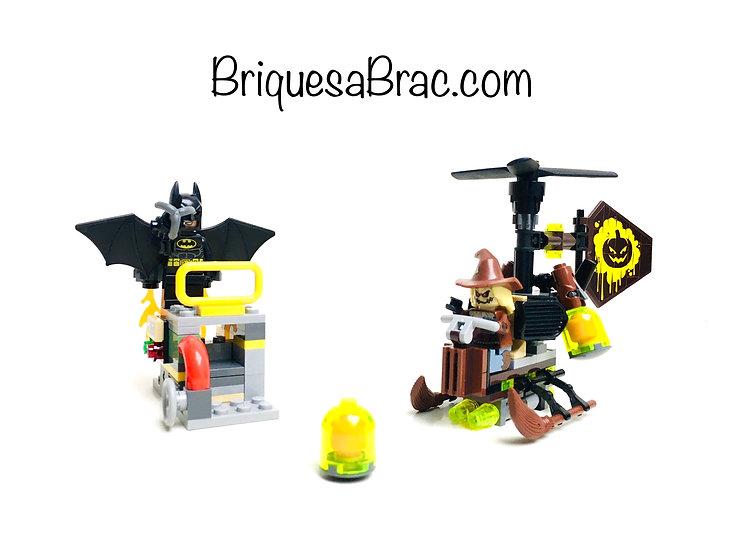 LEGO ® BATMAN MOVIE 70913 Le face-à-face avec l'Épouvantail™