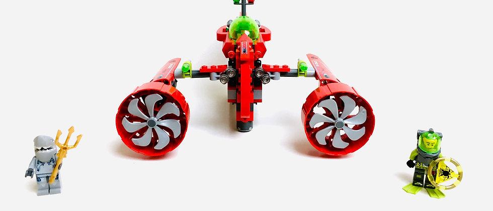 LEGO ® ATLANTIS 8060 Typhoon Turbo Sub