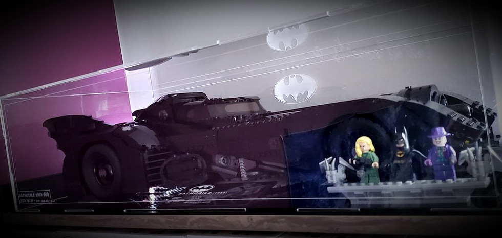 Vitrine BriquesaBoX LEGO 76139 Batmobile 1989