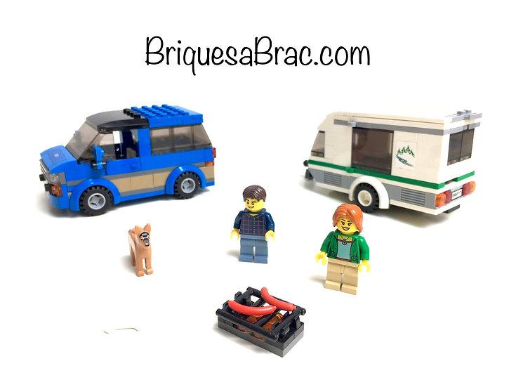 LEGO ® CITY 60117 Le Van & la Caravane