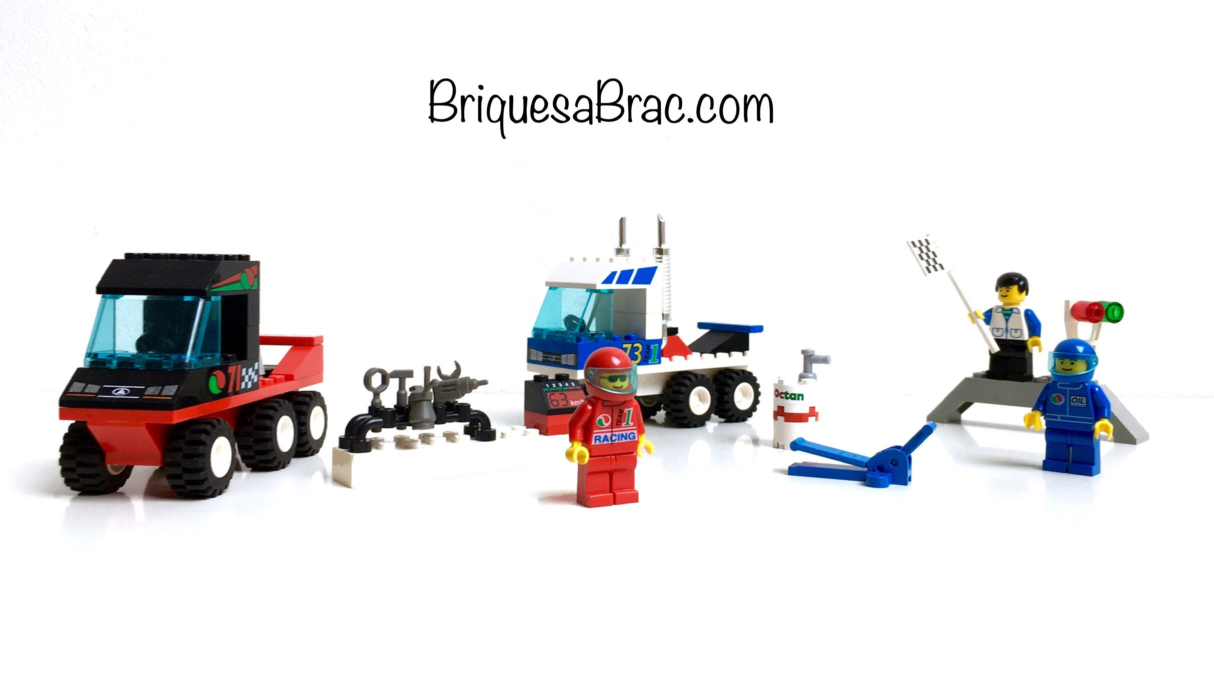LEGO ® CITY 6424 Truck Race   briquesabrac